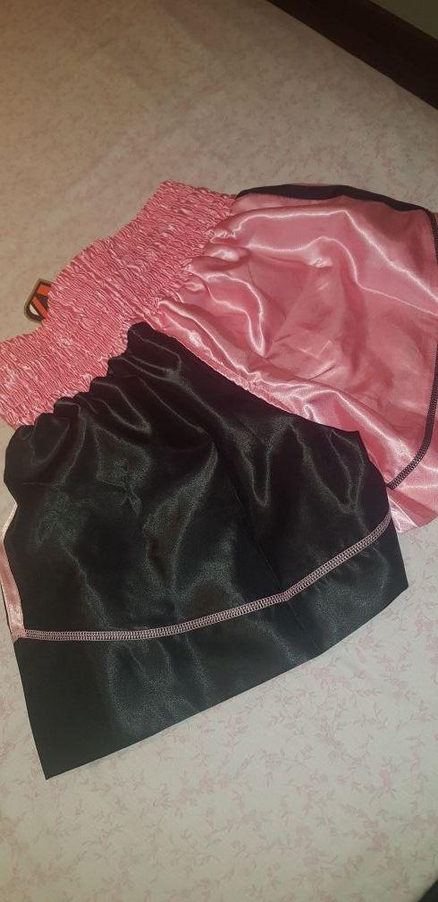 pantalon muay thai para chica