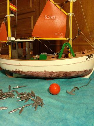 Barco pesquero Playmobil