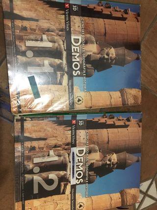 Libros de ciencias sociales , geografía e historia