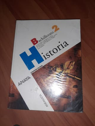 Libro de historia 2°bachillerato