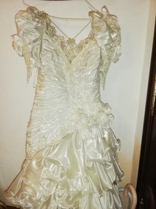 vestido de novia muy bonito