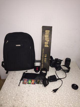 Cámara de foto profesional