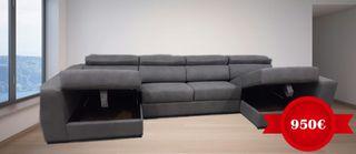 sofa desde 850€ chaiselong relax