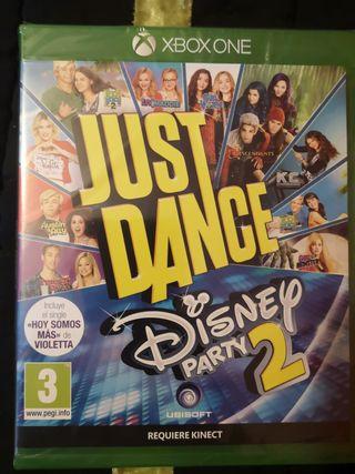Just Dance Disney Party 2 para xbox one NUEVO.