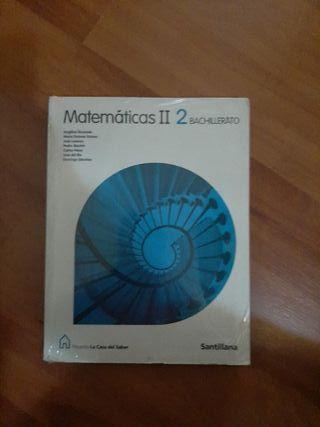 libro de matemáticas 2° de bachillerato