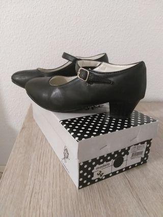 zapatos flamenco niña