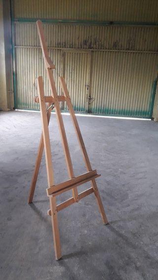atril profesional de pintura grande. 180cm