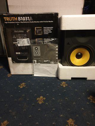 behringer truth b1031a speaker new