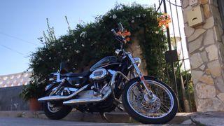 Harley Davidson Sportster 883 xl custom año 2010