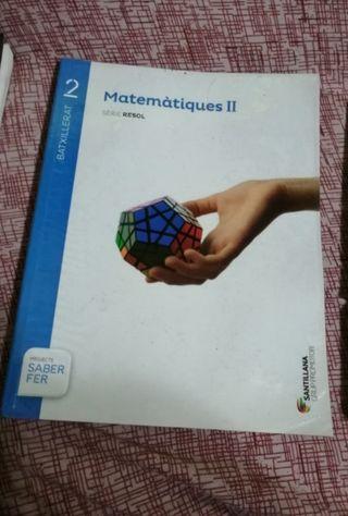 Libro Segundo de Bachillerato Matemáticas