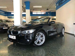 BMW Serie 4 Cabrio 420D 185cv Sport *NACIONAL + LIBRO REVISIONES*