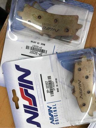 Pastillas Nissin oroginales stock