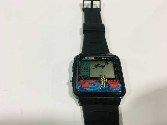 Reloj Casio juego GH17 Space Hero, game watch,