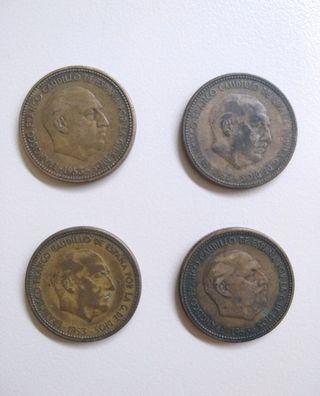 Monedas 2'50 ptas / 1953