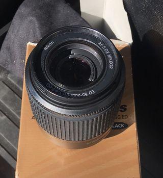 Objetivo tele Nikon D60
