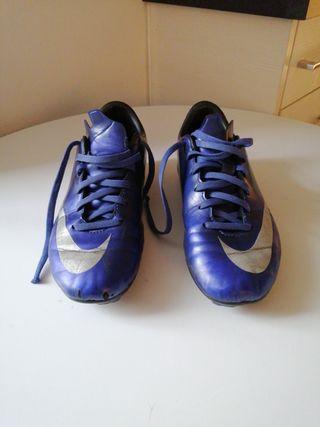 Botas de fútbol CR7,Talla 34