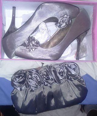 Zapato y Bolso Fiesta