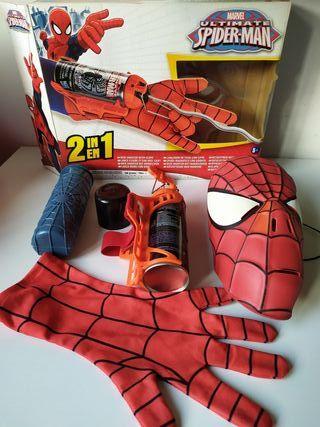 Spider-man, Lanza-redes con guante.