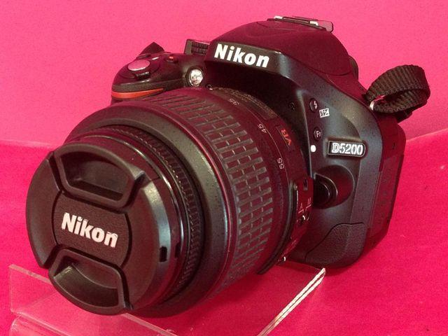 CAMARA FOTOS NIKON D5200 + OBJETIVO 18-55MM
