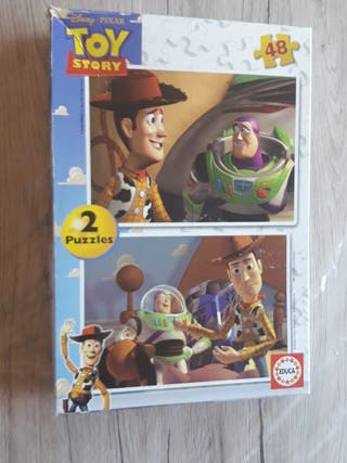 Set 2 puzzles Toy Story