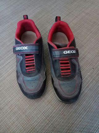 zapatillas Geox con luces