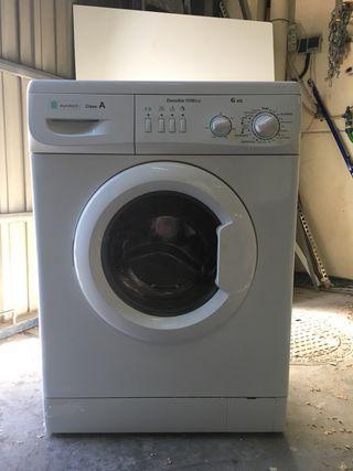 Lavadora eurotech clase A de 6 kg.