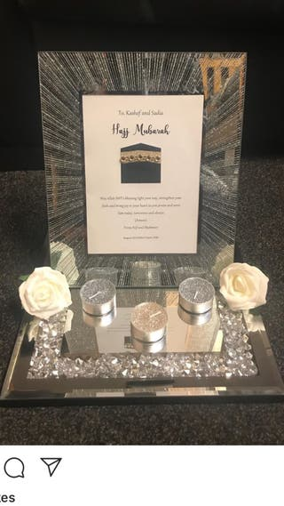 Hajj Umrah personalised gift set