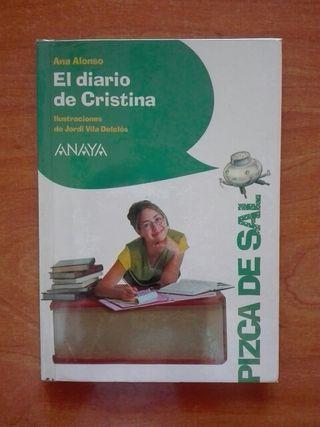 Libro El diario de Cristina. Ana Alonso.