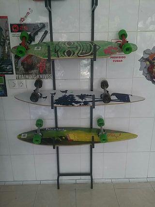 longboard monopatin skate nuevos a estrenar