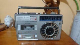 antigua radio cassette international