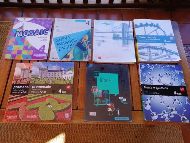 Libros de texto de 4 ESO