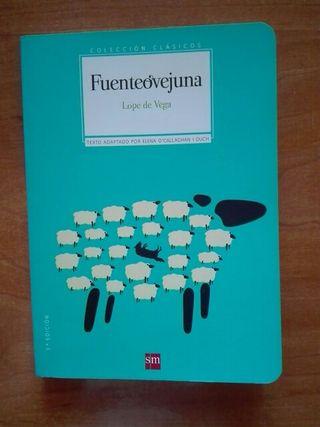 Libro Fuenteovejuna. Lope de Vega.