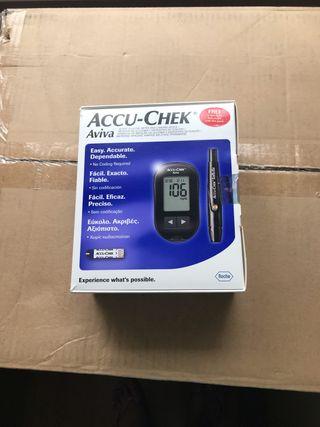 Accu Chek glucose machine - NEW, UNUSED