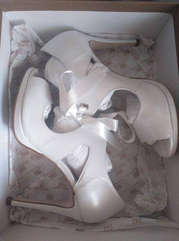 zapatos novia gloria Ortiz