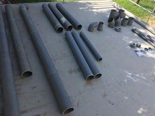 MATERIAL FONTANERIA PVC GRIS