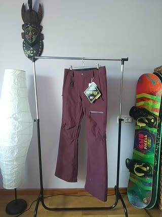 pantalones mujer esquí Volcom goretex NUEVOS