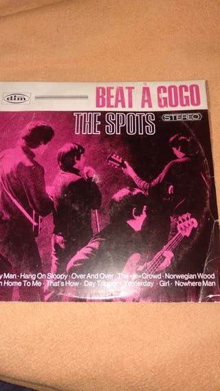 disco vinilo lp the spots