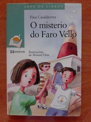 Libro O misterio do faro vello. Fina Casalderrey.
