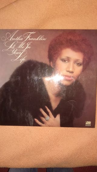 disco vinilo lp Aretha Franklin
