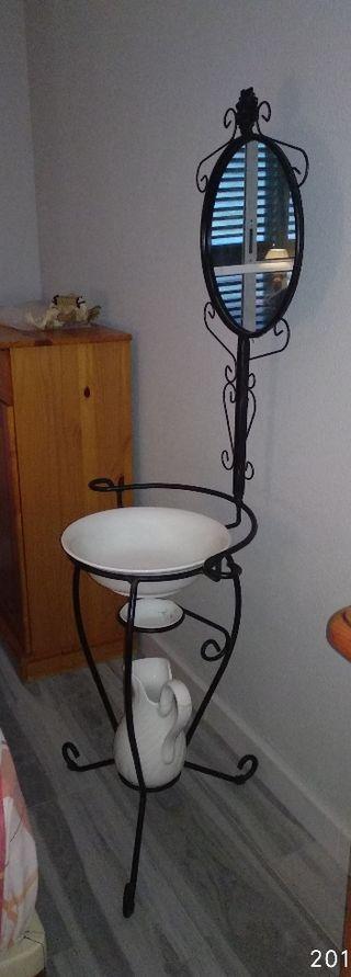lavabo de forja