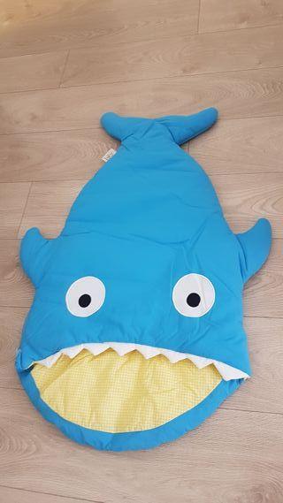 Saco tiburón edredón