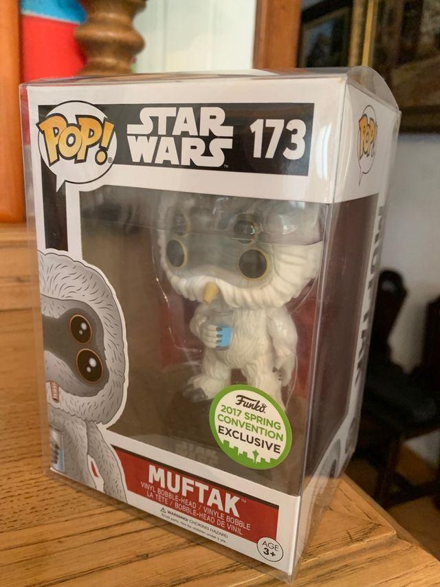 Figura funko pop muftak exclusiva star wars