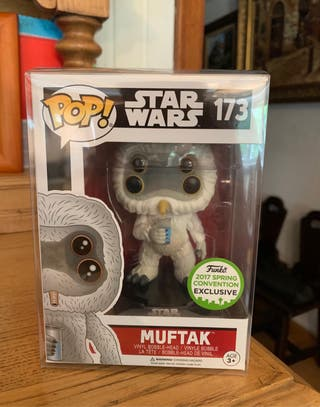 Figura funko pop muftak exclusiva star wars