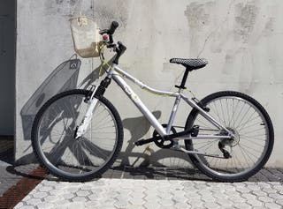 Bicicleta Btwin de 24 pulgadas