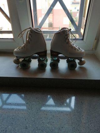patines edea competicion, número 35