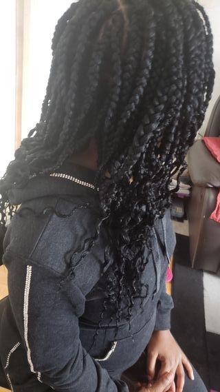 Afrocarribean hairdresser