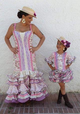 vestidos gitana madre e hija