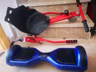 hoberboard y asiento