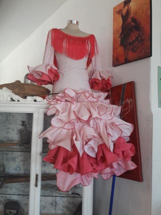 vestido flamenca/sevillana