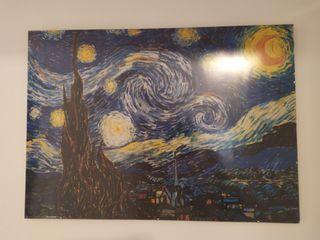 print la noche estrellada Van Gogh